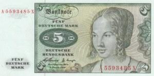 Germany, 5 Mark, 1960, UNC (-), p18