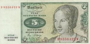 Germany, 5 Mark, 1980, XF, p30b