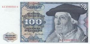 Germany, 100 Mark, 1970, AUNC(-), p34a