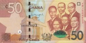Ghana, 50 Cedis, 2015, UNC, p42c