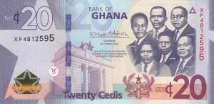 Ghana, 20 Cedis, 2019, UNC, pNew