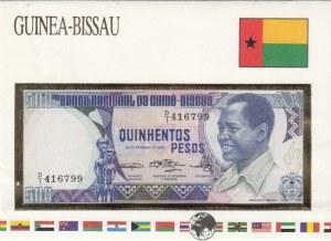 Guinea Bissau, 500 Pesos, 1983, UNC, p7a, FOLDER