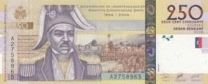 Haiti, 250 Gourdes, 2004, UNC, p276a