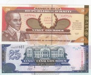 Haiti,  Total 2 banknotes