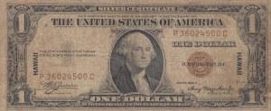 Hawaii, 1 Dollar, 1935, FINE, p36a