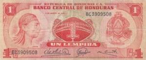 Honduras, 1 Lempira, 1974, FINE, p58