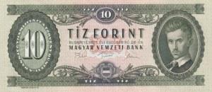Hungary, 10 Forint, 1975, UNC, p168e