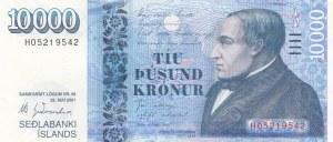 ıceland, 1000 Kronur, 2001, UNC, p61