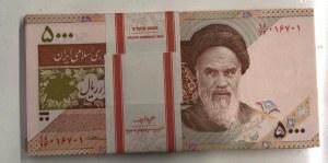 Iran, 5.000 Rials, 2013, UNC, p152, Stack of money