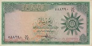Iraq, 1/4 Dinar, 1959, XF, p51a