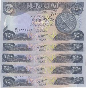 Iraq, 250 Dinars, 2003, UNC, p91a