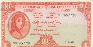 Ireland, 10 Shillings, 1968, XF, p63a