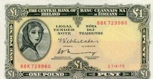 Ireland, 1 Pound, 1975, XF, p64c