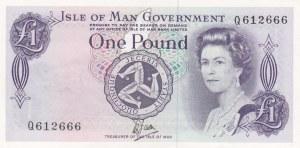 Man Island, 1 Pound, 1979, UNC (-), p34a