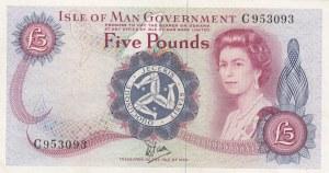 Isle of Man, 5 Pounds, 1979, UNC (-), p35a