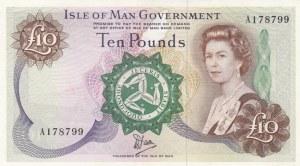 Isle of Man, 10 Pounds, 1979, UNC, p36b