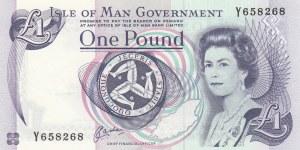 Isle of Man, 1 Pound, 1983, UNC, p40b