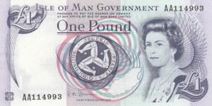 Isle of Man, 1 Pound, 2009, UNC, p40c