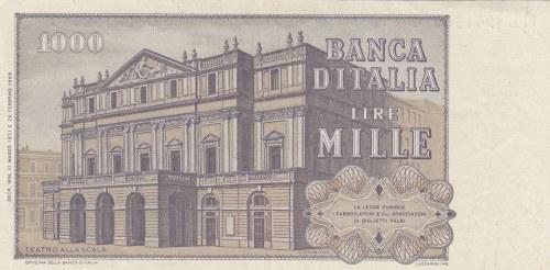 Italy, 1.000 Lire, 1971, XF, p101a