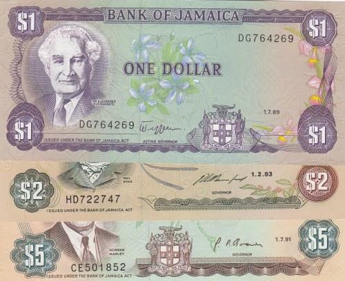 Jamaica,  Total 3 banknotes