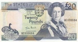 Saint Helena, 20 Pounds, 2000, UNC (-), p29a