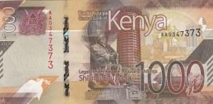 Kenya, 1.000 Shillings, 2019, UNC, pNew