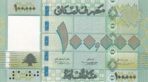 Lebanon, 100.000 Livres, 2012, UNC, p95b