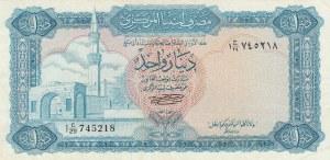 Libya, 1 Dinar, 1972, XF, p35b