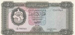 Libya, 5 Dinars, 1972, UNC (-), p36b