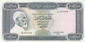Libya, 10 Dinars, 1972, XF, p37b