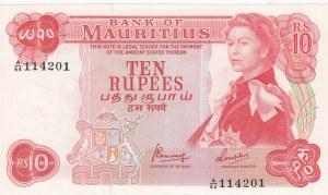 Mauritius, 10 Rupees, 1967, AUNC (+), p31c