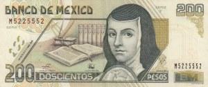 Mexico, 200 Pesos, 1998, XF, p109c