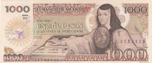 Mexico, 1000 Pesos, 1985, UNC, p85