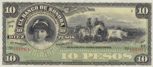 Mexico, 10 Pesos, 1897-1911, UNC, pS420