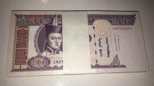Mongolia, 100 Tugrik, 2014, UNC, p65c, BUNDLE