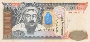 Mongolia, 10.000 Tugrik, 2002, UNC (-), p69a