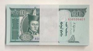 Mongolia, 10 Tugrik, 2018, UNC, pNew, Stack of money