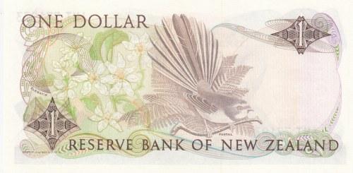 New Zealand, 1 Dollar, 1989/1992, UNC, p169c
