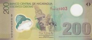 Nicaragua, 200 Cordobas, 2007, UNC, p205