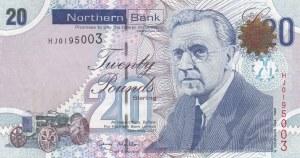 Northern Ireland, 20 Pounds, 2011, UNC, p211