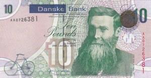 Northern Ireland, 10 Pounds, 2013, UNC (-), p212