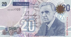 Northern Ireland, 20 Pounds, 2012, UNC, p213