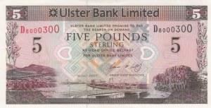 Northern Ireland, 5 Pounds, 2007, UNC (-), p340b