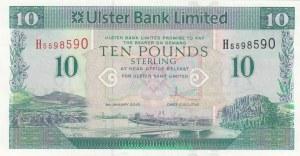 Northern Ireland, 10 Pounds, 2012, UNC, p341b