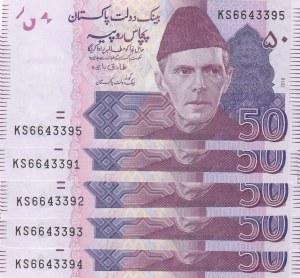 Pakistan, 50 Rupees, 2018, UNC, p56