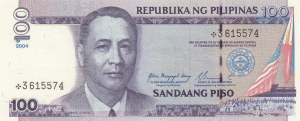 Philippines, 100 Piso, 2004, UNC, p194a