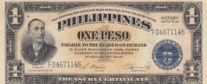 Philippines, 1 Peso, 1944, VF, p94