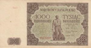 Poland, 1.000 Zlotych, 1947, XF, p133