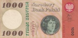 Poland, 1.000 Zlotych, 1965, XF, p141a