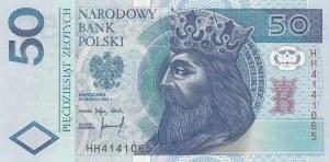 Poland, 50 Polish Zloty, 1994, UNC, p175a